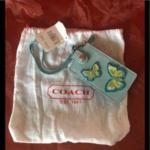 Coach Butterfly Mini IPod Case